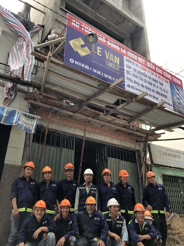 Hình ảnh sửa chữa nhà do Công ty Lê Văn thực hiện