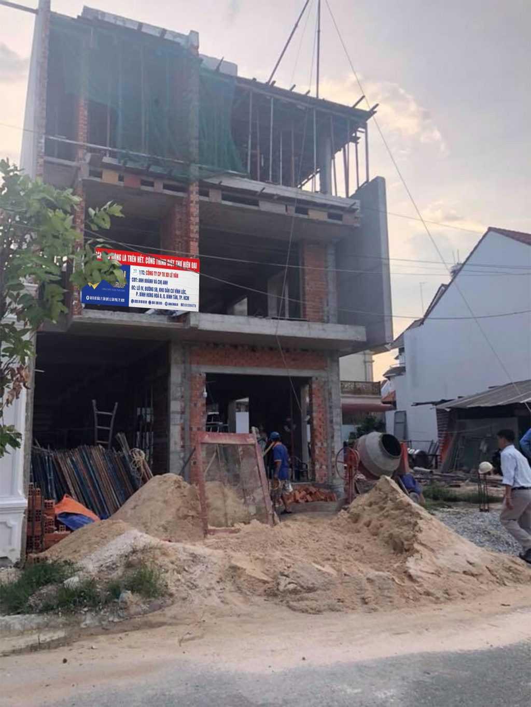 Công trình biệt thự anh Khánh và chị Anh tại Quận Bình Tân