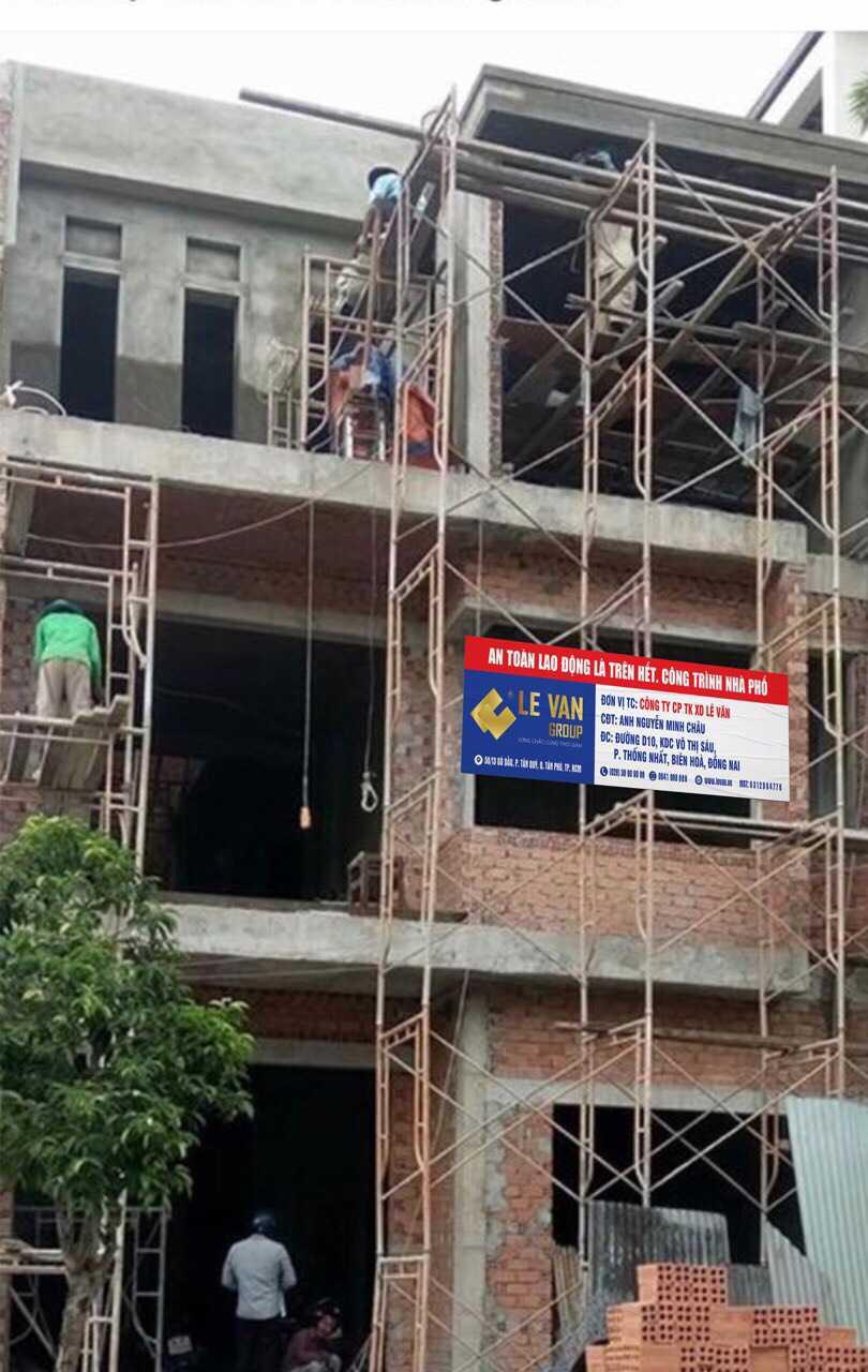 Công trình nhà phố anh Nguyễn Minh Châu tại Đồng Nai