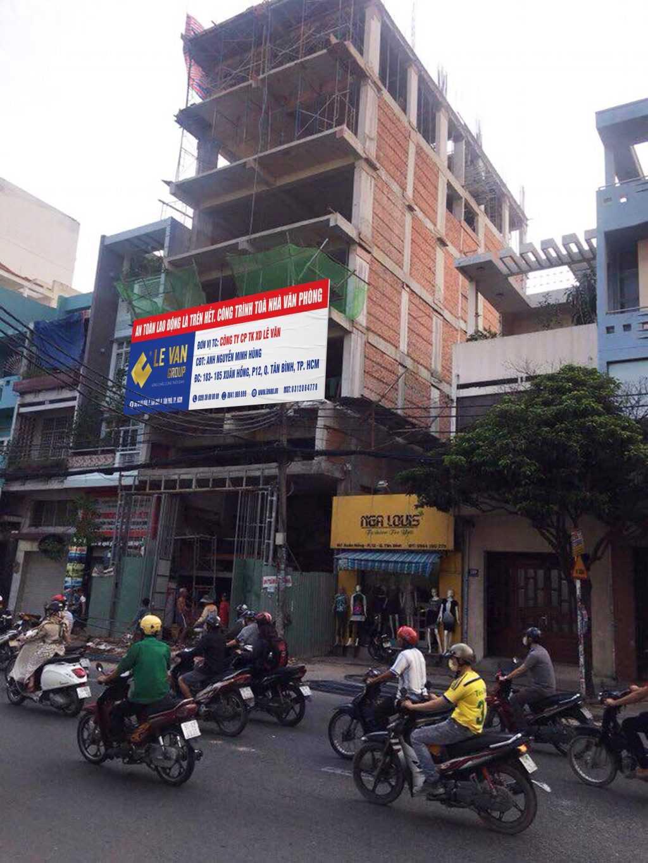 Công trình tòa nhà văn phòng anh Nguyễn Minh Hùng tại Tân Bình