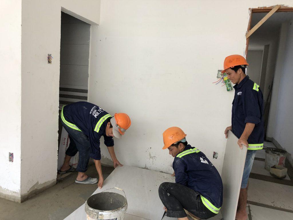 Công trình biệt thự mini bàĐặng Thị Ánh Tuyết tại Quận 12