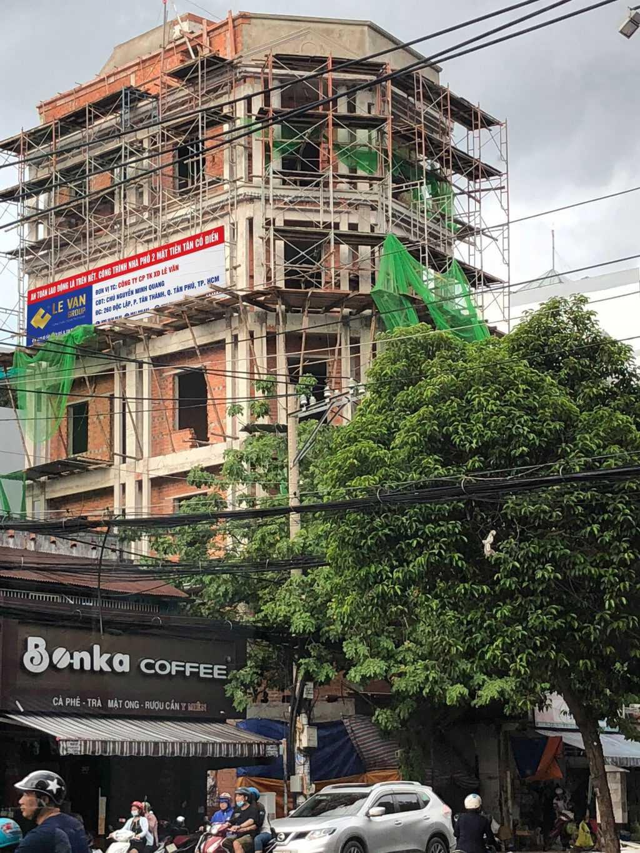 Công trình nhà phố 2 mặt tiền tân cổ điển chú Nguyễn Minh Quang tại Quận Tân Phú