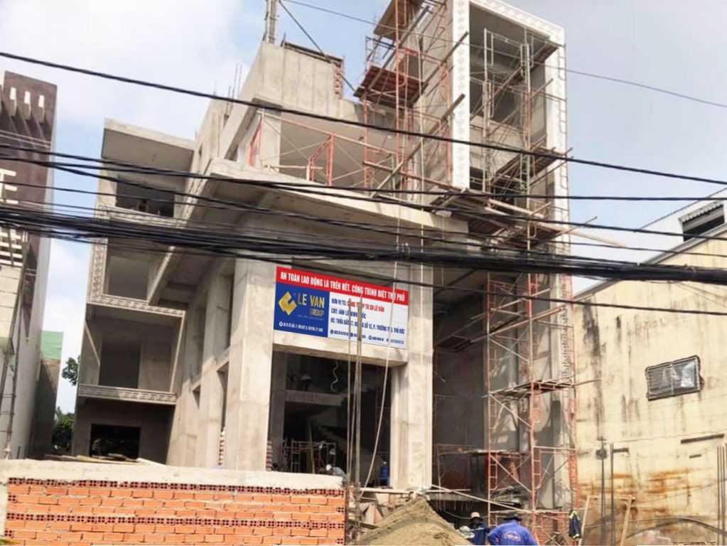 Công trình biệt thự phố anh Lê Minh Quốc tại Thủ Đức