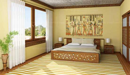 Màu sắc trong phong thủy phòng ngủ thu hút tài lộc