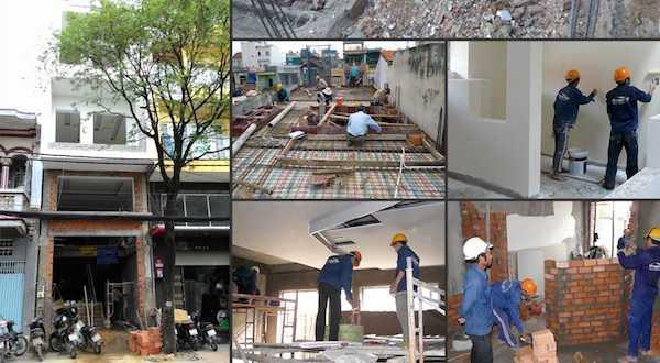 Các hạng mục trong gói dịch vụ sửa chữa nhà