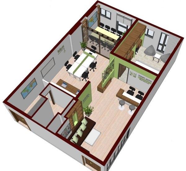 Kiến trúc sư tiến hành khảo sát và lên bản thiết kế chi tiết