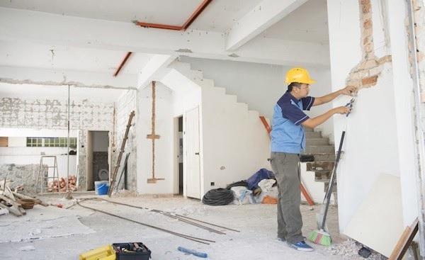 Sau khi ký hợp đồng, công ty sẽ tiến hành thi công công trình