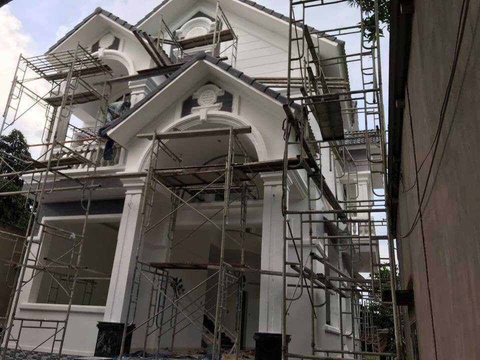 Công trình xây nhà anh Đạt tại Lái Thiêu Bình Dương
