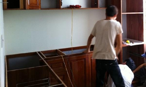 Sửa chữa nhà bếp theo yêu cầu của khách hàng