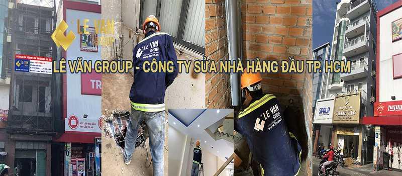 Sửa nhà quận 12 nhanh chóng, đơn giản, chất lượng tại Xây Dựng Lê Văn