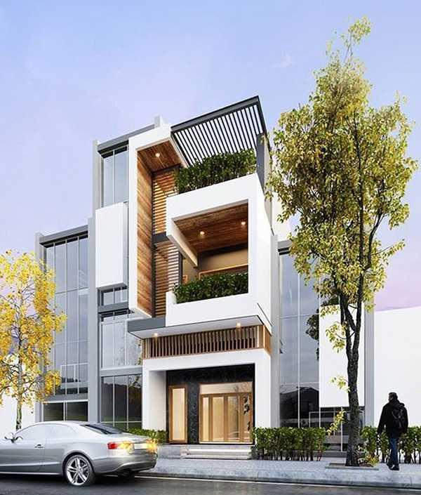 Thiết kế nhà phố 1