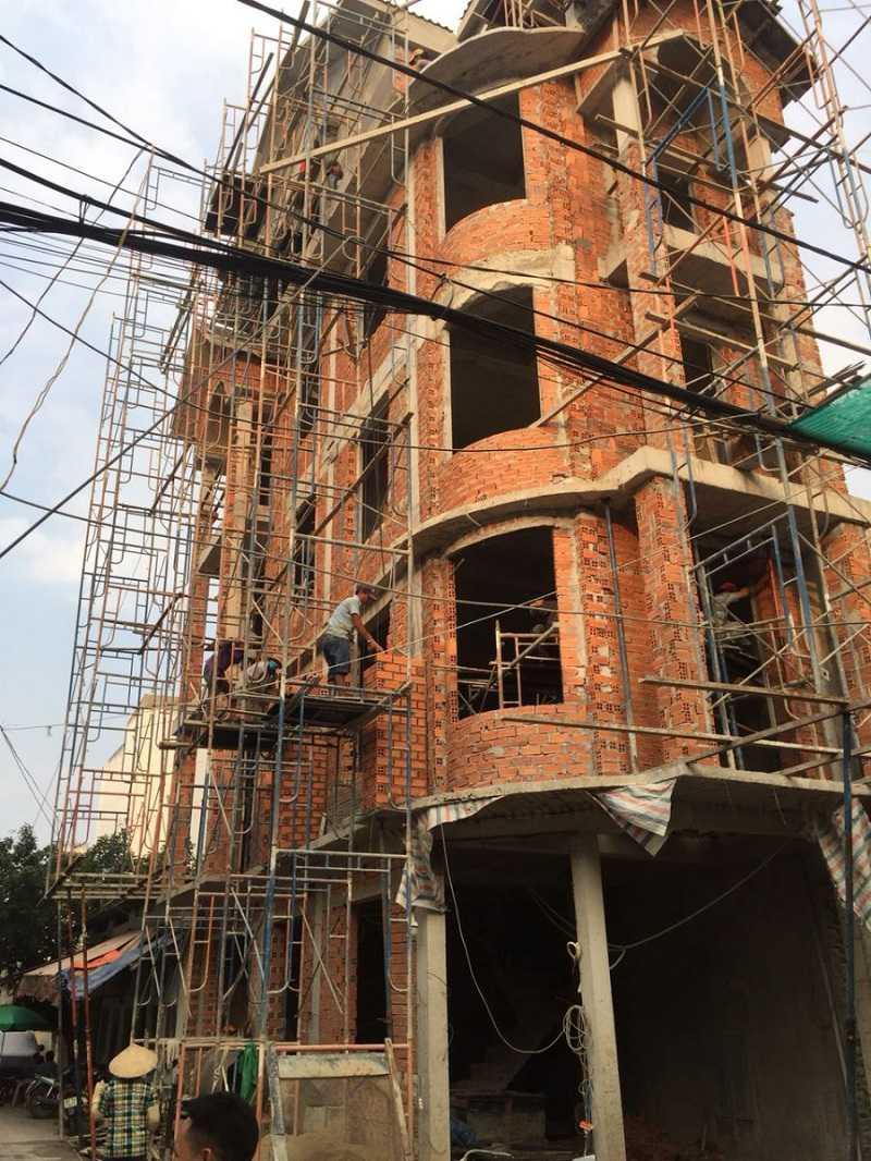 Dịch vụ thi công xây nhà quận 2 đáng tin cậy