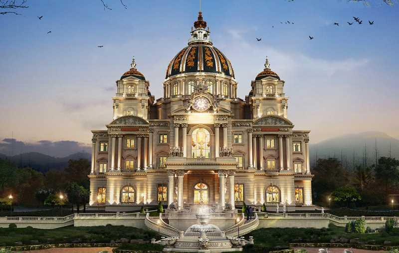 Dịch vụ xây nhà lâu đài phong cách Châu Âu