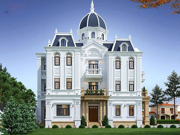 Top 20 mẫu thiết về biệt thự đẹp 2020