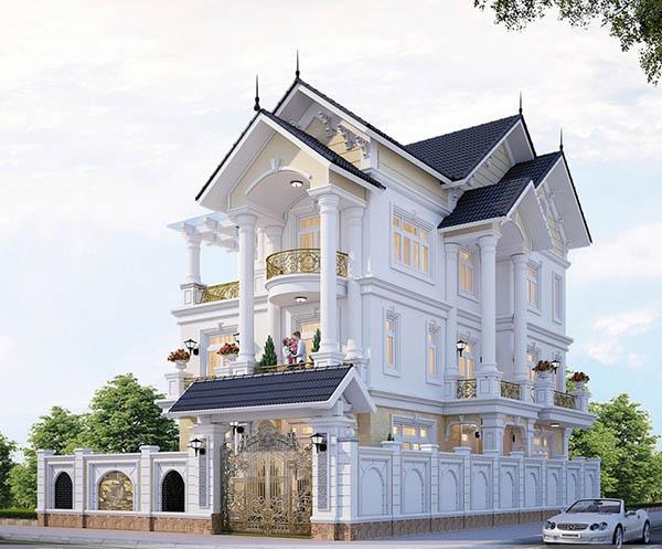 Tổng hợp các mẫu thiết về biệt thự đẹp 2020