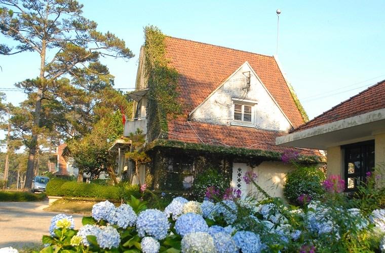 Đà Lạt nổi tiếng là nơi có nhiều căn biệt thự cổ nhất tại Việt Nam