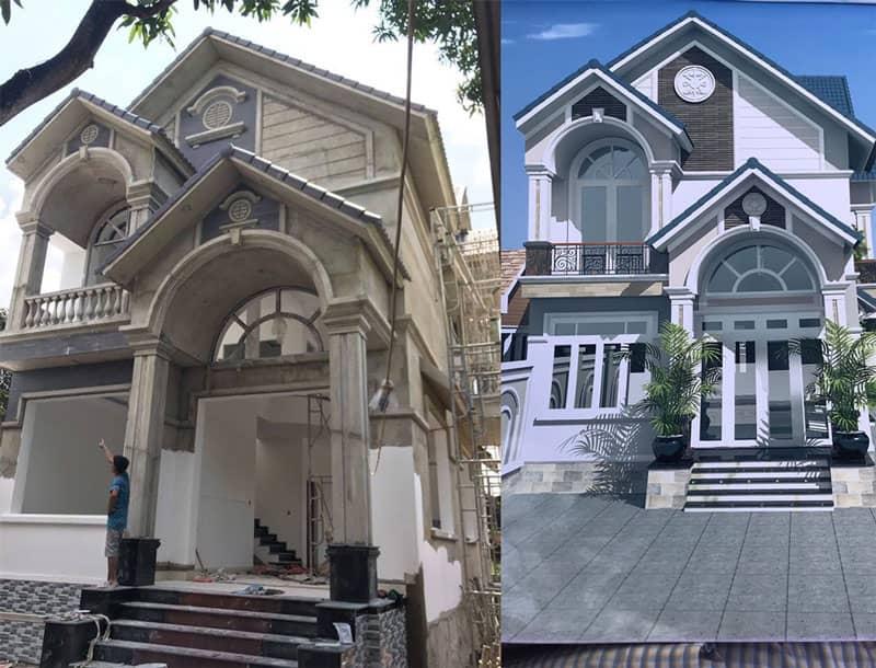 Báo giá xây dựng nhà phố đẹp trọn gói 2021