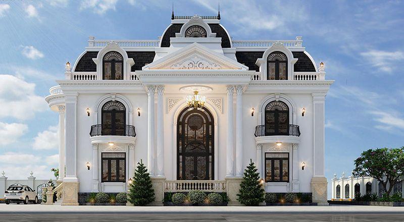 Biệt thự cổ điển với đường nét tinh xảo, trang nhã