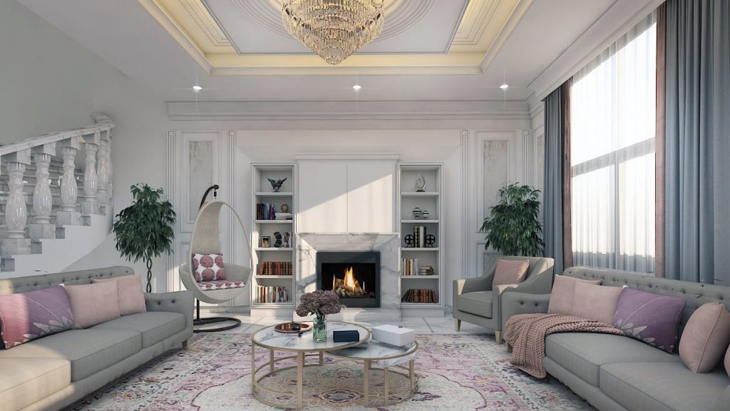 Thiết kế nội thất sang trọng và thanh lịch