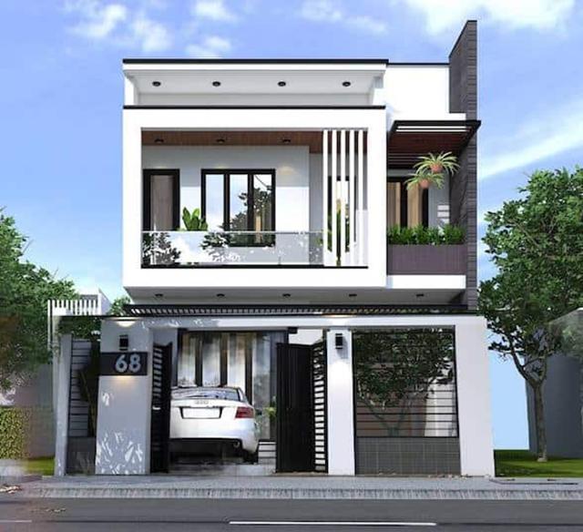 10+ mẫu thiết kế nhà 7x15m 2 tầng đẹp, tiện nghi